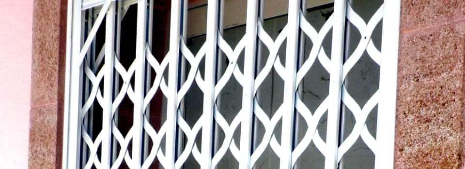 Rejas de aluminio